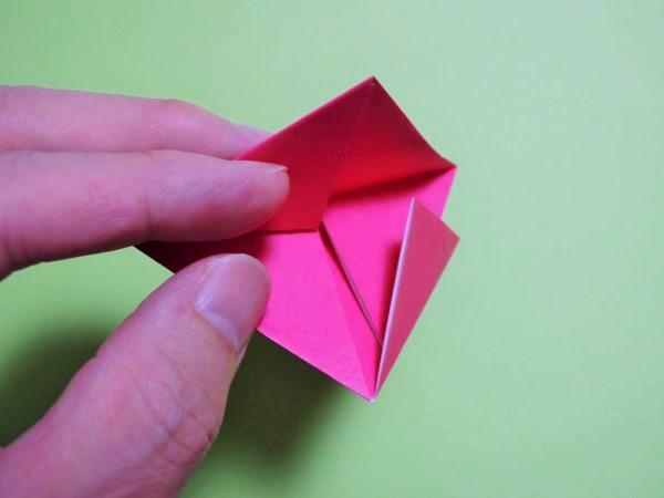 クリスマス 折り紙 : 折り紙 ハート 立体 : xn--o9ja9dn55ayerin411bcd3afbgz3gd4y.jp