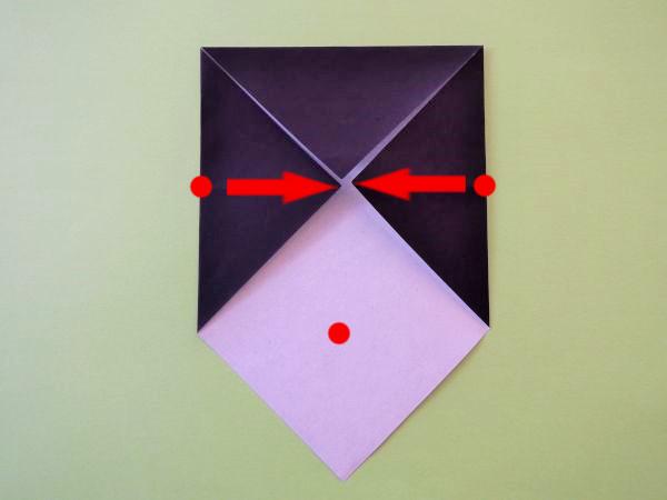 ハート 折り紙:折り紙 女の子 折り方-xn--o9ja9dn55ayerin411bcd3afbgz3gd4y.jp