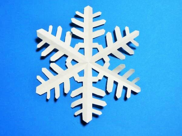 クリスマス 折り紙:折り紙 雪の結晶-xn--o9ja9dn55ayerin411bcd3afbgz3gd4y.jp