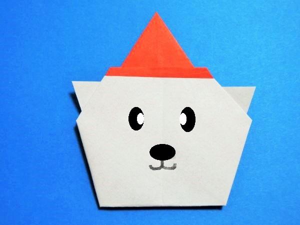 クリスマス 折り紙 折り紙 くま 折り方 : xn--o9ja9dn55ayerin411bcd3afbgz3gd4y.jp