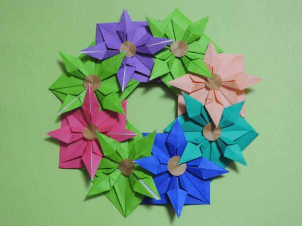 簡単 折り紙 折り紙 飾り 折り方 : xn--o9ja9dn55ayerin411bcd3afbgz3gd4y.jp