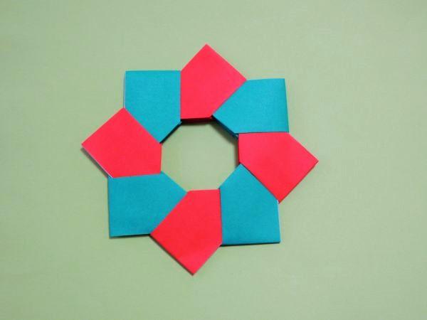 簡単 折り紙 折り紙 飾り付け : xn--o9ja9dn55ayerin411bcd3afbgz3gd4y.jp